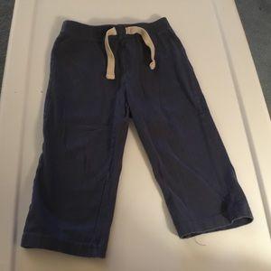 Old Navy Boys Blue Sweatpants. Size 18-24m